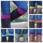 Pick Your Color Crochet Boot Cuffs ..